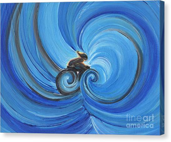 Cycle By Jrr Canvas Print