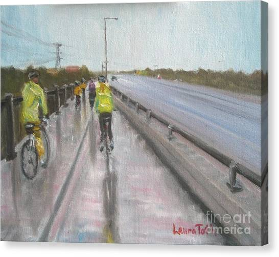 Cycle Club Canvas Print
