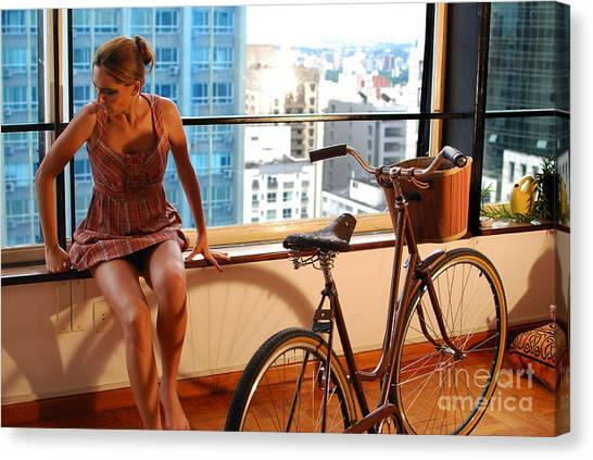 Cycle Introspection Canvas Print