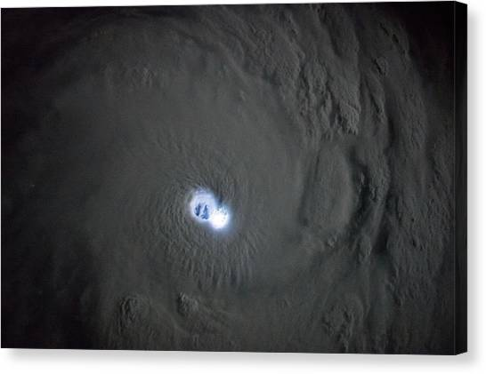 Cyclones Canvas Print - Cyclone Bansi by Nasa