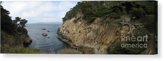 Cypress Cove Panorama Canvas Print