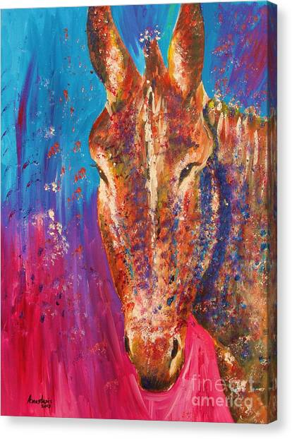 Cyprus Donkey Canvas Print by Anastasis  Anastasi