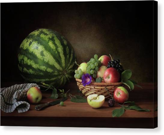 Fruit Baskets Canvas Print - D? N?d?d?d?d?d?d? D? N?n?n?don?d?d?d? by ??????? ????????
