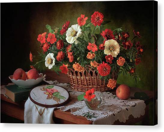 Fruit Baskets Canvas Print - D? N?d?d?n?d?d?d? D?d?d?n?n?n?d? by ??????? ????????