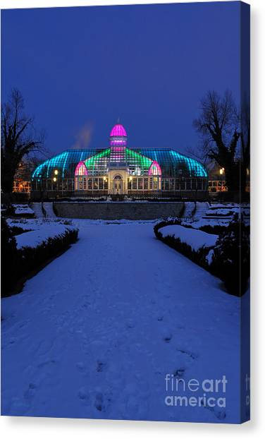 D5l287 Franklin Park Conservatory Photo Canvas Print
