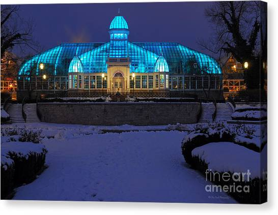 D5l-291 Franklin Park Conservatory Photo Canvas Print