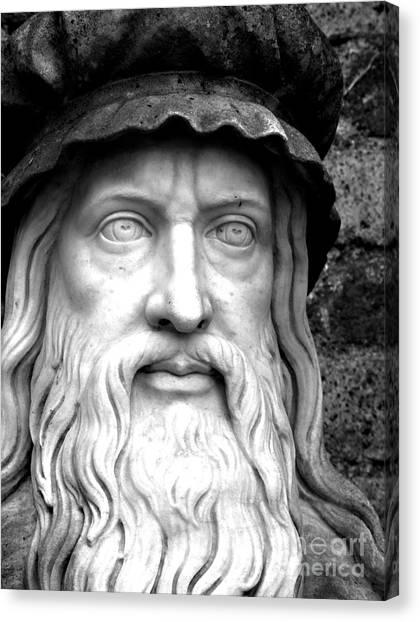 Rennaissance Art Canvas Print - Da Vinci by Mark Szep