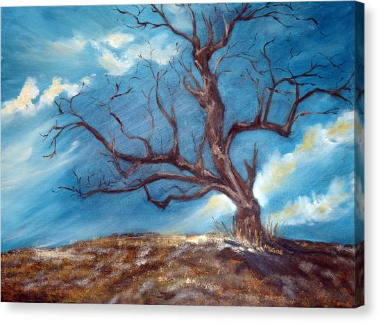Daddy's Tree Canvas Print