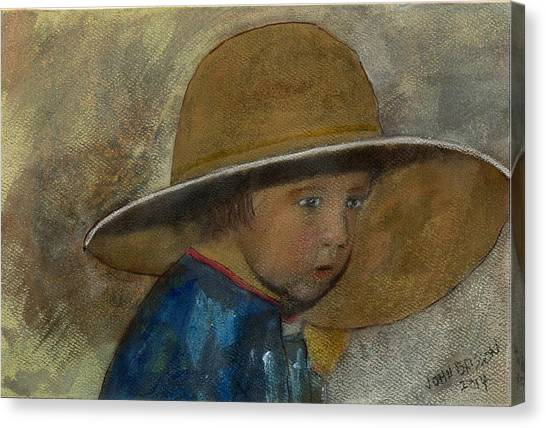 Dad's Hat Canvas Print
