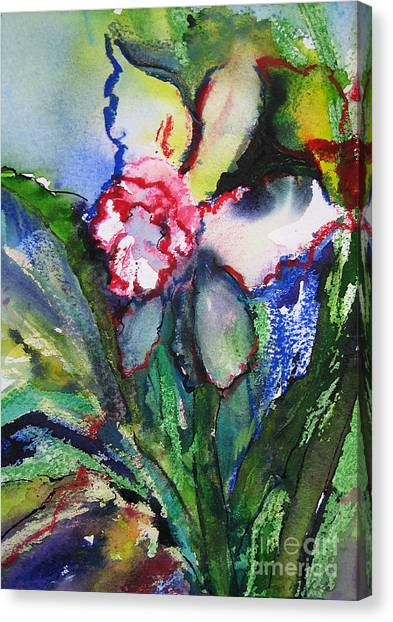 Daffodil 6 Canvas Print by Gwen Nichols