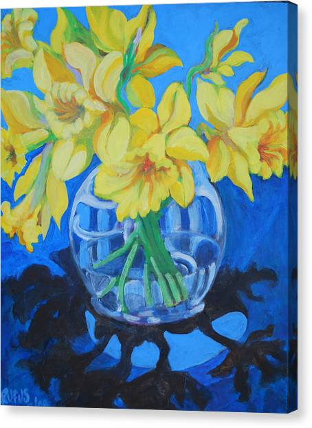 Canvas Print - Daffodils by Rufus Norman