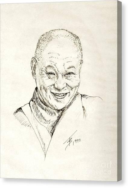 Dahlai Lama Canvas Print