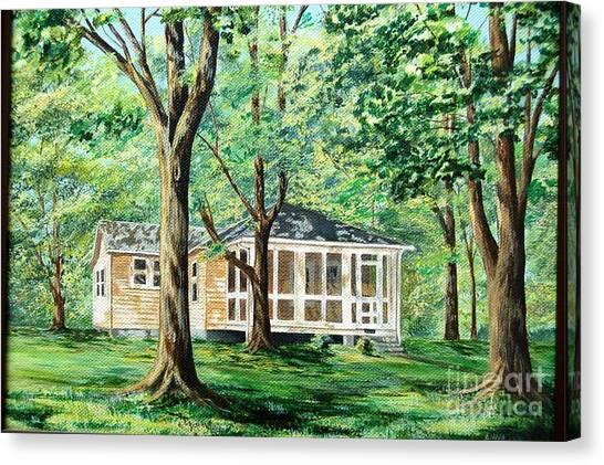 Dahlgren Home Canvas Print