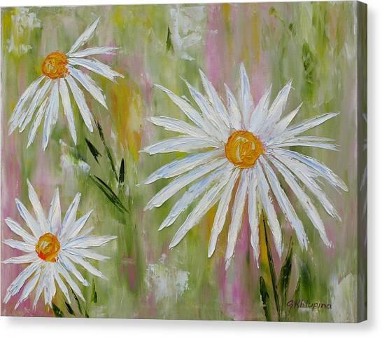 Daisies 2 Canvas Print