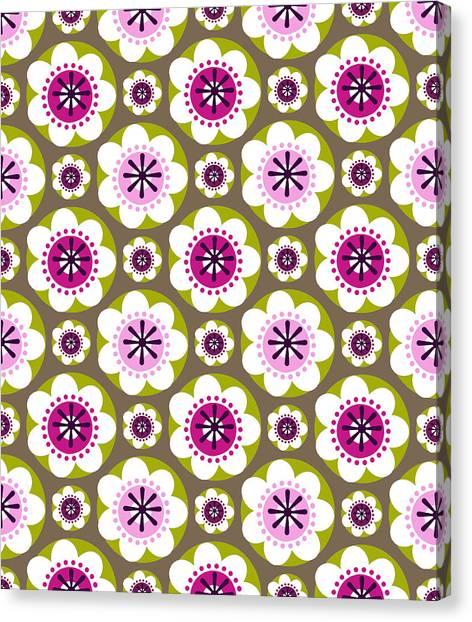Daisy's Flower Garden Canvas Print