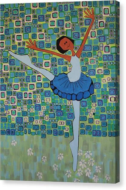 Daizies' Ballet Canvas Print