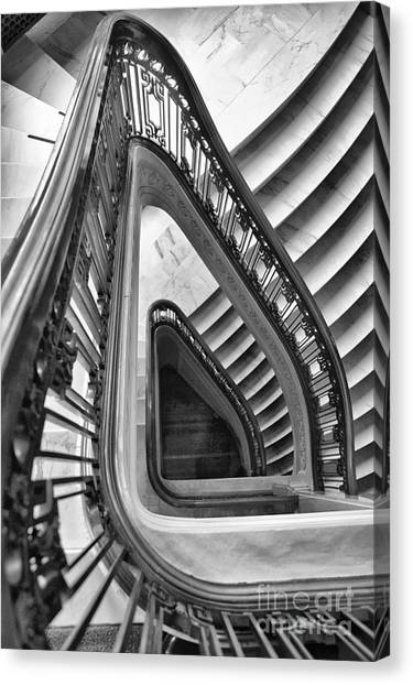 Dali Stairs Canvas Print