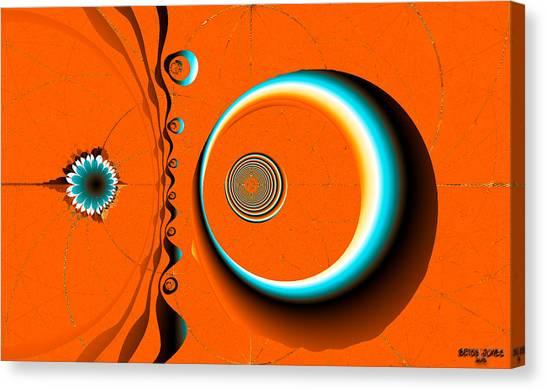 Canvas Print - Dali's Desert by Betsy Jones
