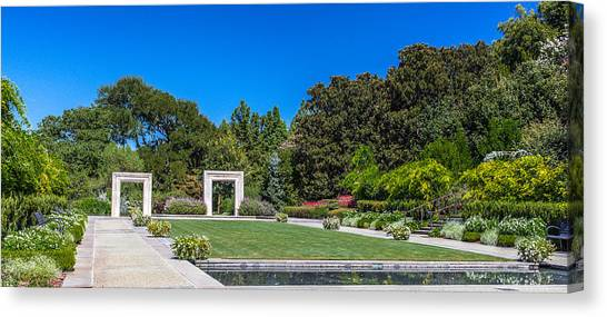 Dallas Arboretum Canvas Print