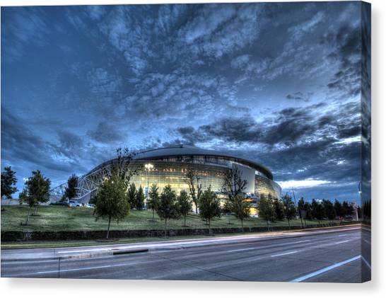 Dallas Cowboys Stadium Canvas Print