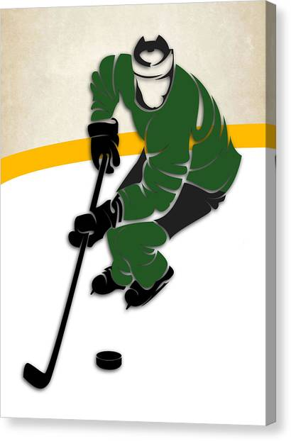Dallas Stars Canvas Print - Dallas Stars Rink by Joe Hamilton