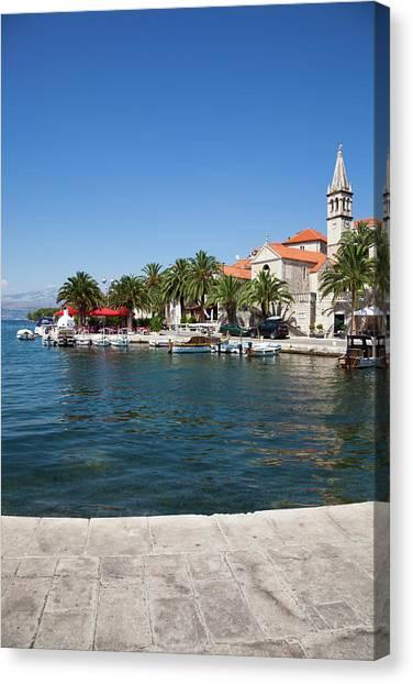 Dalmatian Panorama Canvas Print by Photovideostock