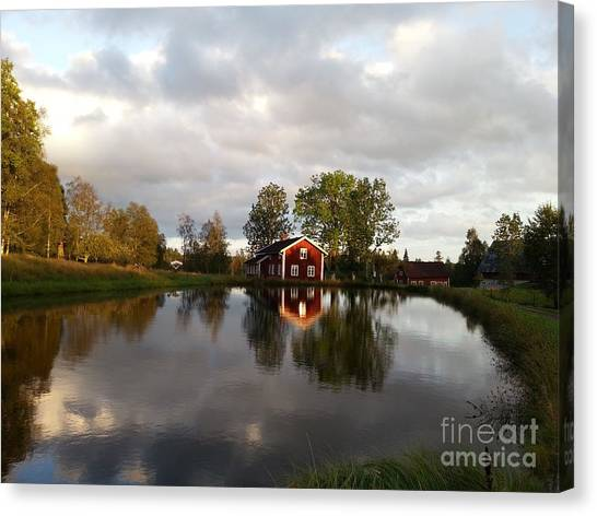 Dalsrud-reflection Canvas Print