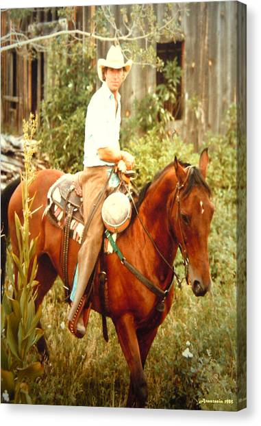 Dan Fogelberg Riding By The Old Schoolhouse Canvas Print