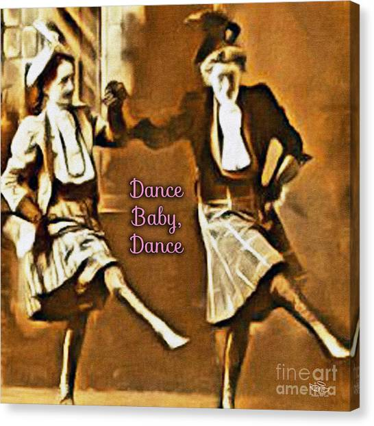 Dance Baby Dance Canvas Print