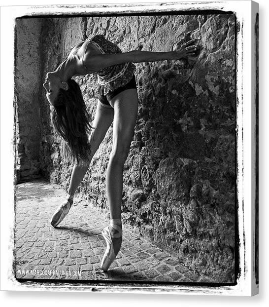 Ballet Canvas Print - #dance #ballet #balletdancers by Marco Cappalunga