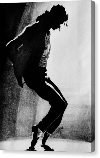 Toes Canvas Print - Dance by Jeremy Moore