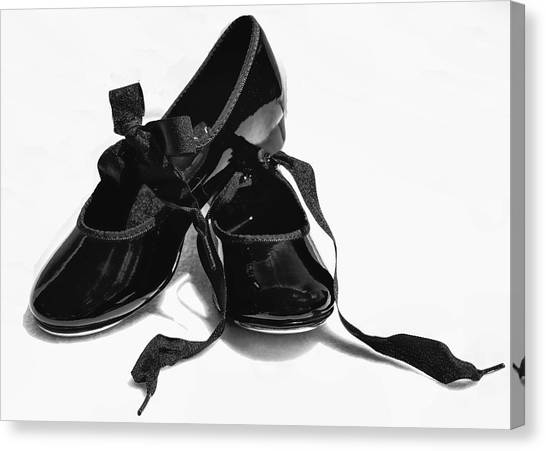 Tap Dance Canvas Print - Dance by John Crothers