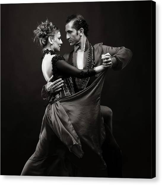 Dance Of Love Canvas Print
