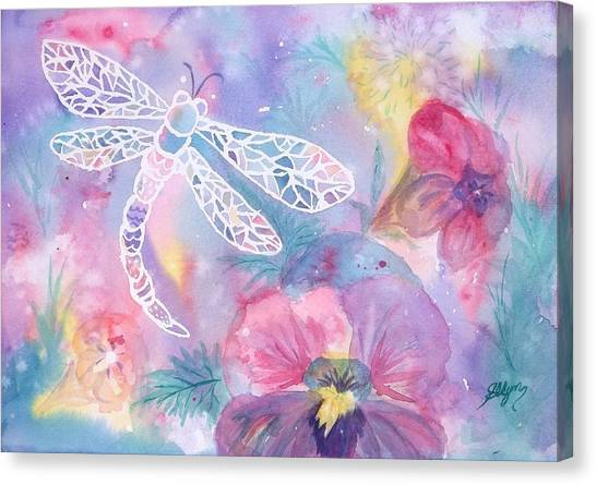 Dance Of The Dragonfly Canvas Print