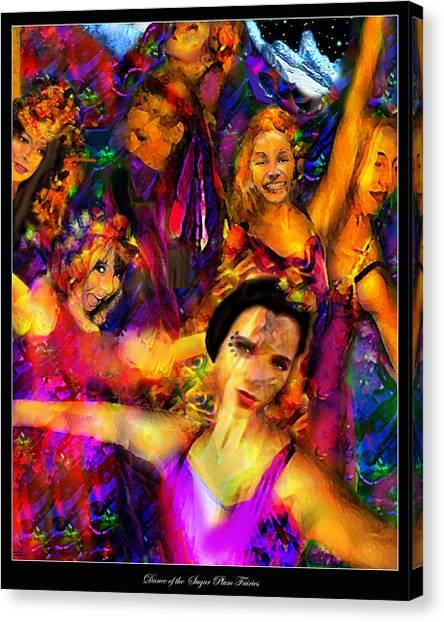 Dance Of The Sugar Plum Fairies Canvas Print