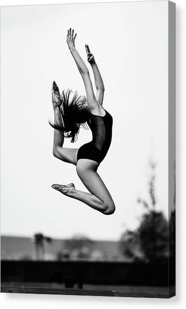 Jump Canvas Print - Dance [radka] by Martin Krystynek Qep