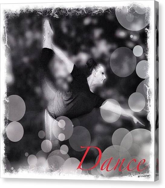 Ballet Canvas Print - #dance #series#edits#sister#beautiful by Melissa Mariani
