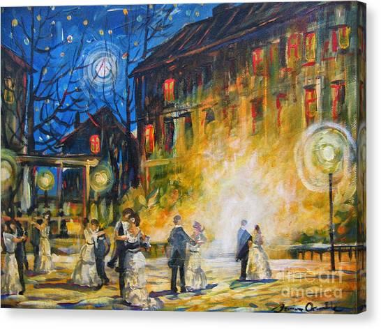 Dance The Night Away Canvas Print