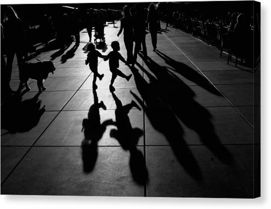 Street Canvas Print - Dance by Vedrana Domazet