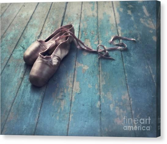 Ballet Shoes Canvas Print - Danced by Priska Wettstein