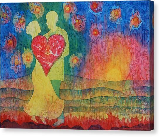 Danced Until Dawn Canvas Print