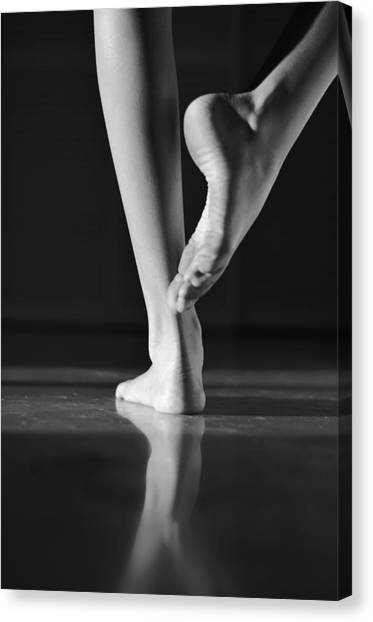 Ballet Canvas Print - Dancer by Laura Fasulo