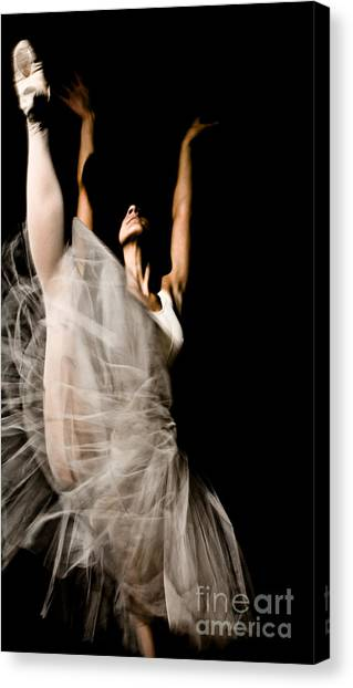 Dancer Canvas Print by Marco Affini