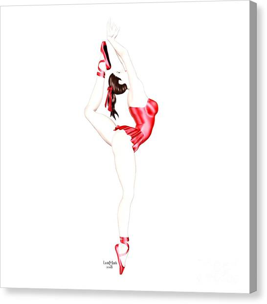Luxmaris Canvas Print - Dancer by Renate Janssen