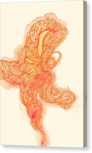 Dancer- #ss14dw010 Canvas Print by Satomi Sugimoto