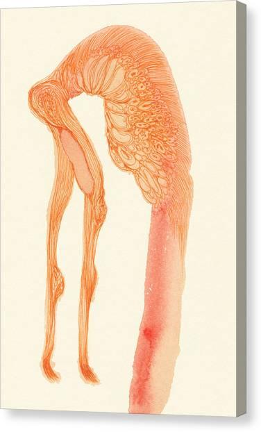 Dancer- #ss14dw014 Canvas Print by Satomi Sugimoto