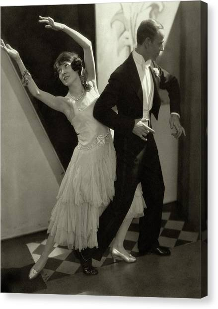 Adele Canvas Print - Dancers Fred And Adele Astaire by Edward Steichen