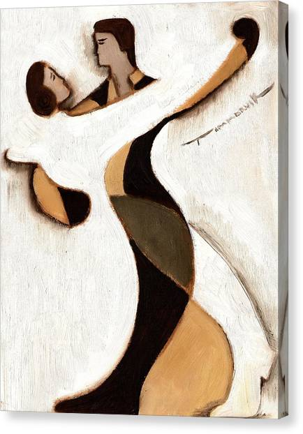 Tommervik Abstract Dancers  Art Print Canvas Print