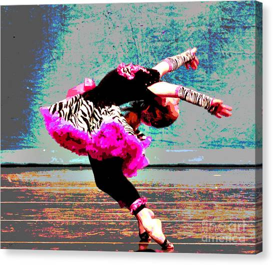 Dancevii Canvas Print