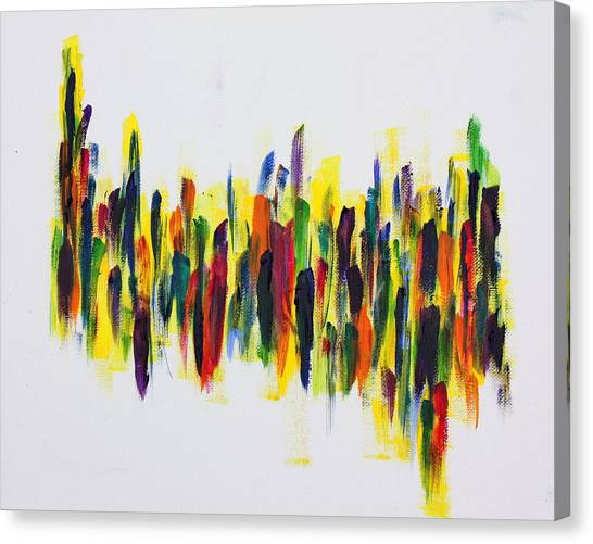 Dancing At Dawn Canvas Print by Tom Atkins